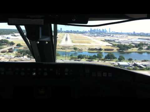 CRJ200 Landing Dallas Love Field DAL