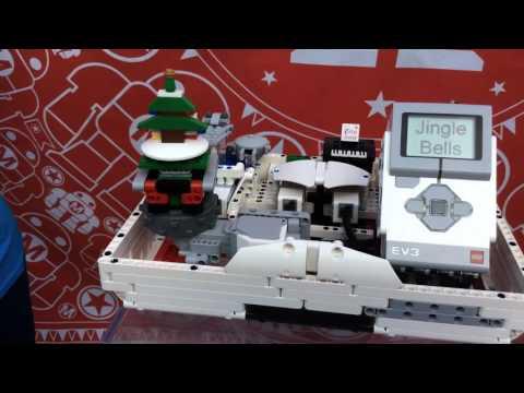 LEGO® MINDSTORMS® EV3 inspirace: HUDEBNÍ AUTOMAT – LEGO jukebox od Justine