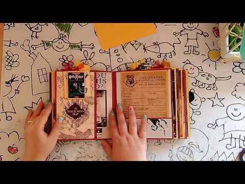 Harry Potter Album Scrapbook - Muñecas de Trapo