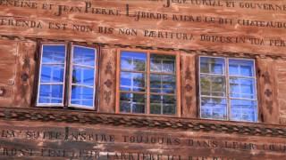 LA VIE DE CHALET - Le grand chalet de Balthus à Rossinière en Suisse