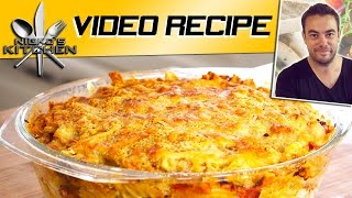Ham & Cheese Pasta Bake | Nicko's Kitchen