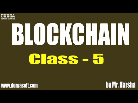 Learn BLOCKCHAIN Online Training | Hashing | Class - 5 | by Harsha Sir