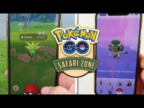 CAPTURO ODDISH SHINY y 12 SHINIES más!¡¡¡TODO el Pokémon GO SAFARI ZONE desde DENTRO!!! [Keibron]