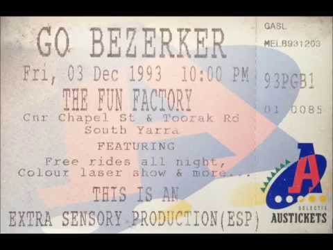 Go Beserker Transmission radio mix Dec1993