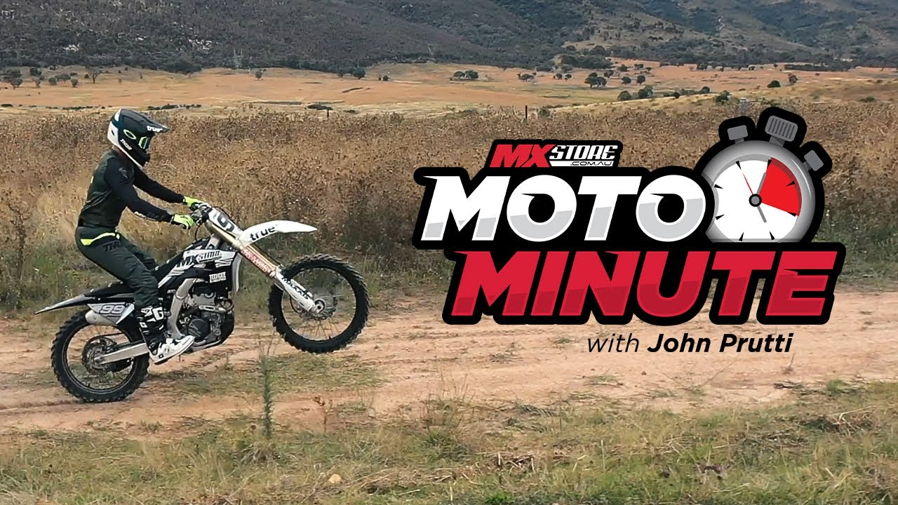 MXstore MotoMinute: How to Bunnyhop Your Dirt Bike | MXstore.com.au