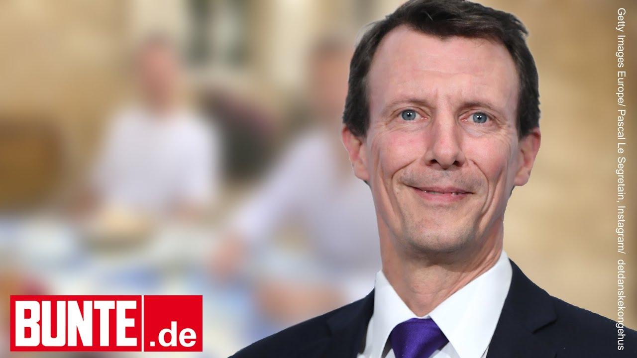 Joachim von Dänemark – Optimistisches Lächeln! 1. Foto seit dem Schlaganfall