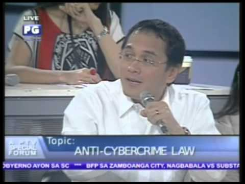 Part 3: Anti-Cybercrime Law a PTV Special Forum - PTV Special Coverage [Sept. 28, 2012]