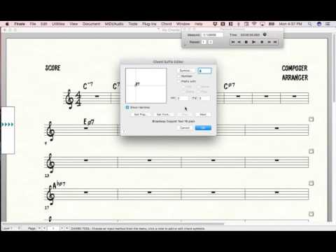 2 Finale Music Notation Bug