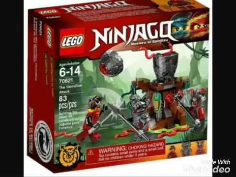 les nouveaux lego ninjago 2017