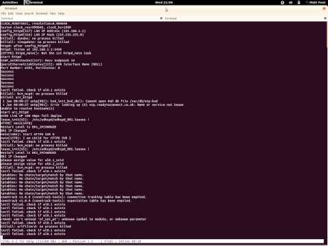 "Orange ""Bright Box"" boot process, captured via USB to serial, using ""minicom"" (Ubuntu)"