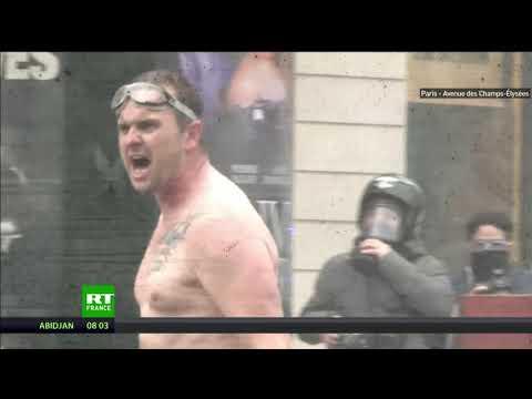 Retour en images sur les temps forts de la mobilisation des Gilets jaunes à Paris