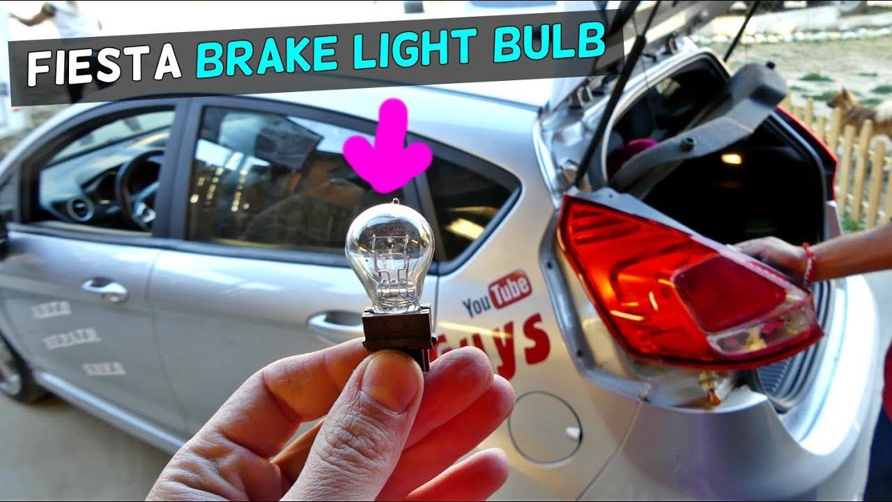 Ford Fiesta Mk Brake Light Bulb Tail Light Bulb Replacement