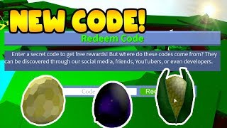 *EGG HATCHING* CODE!! Build a Boat for Treasure ROBLOX