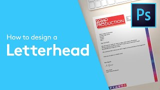 How Design Letterhead Adobe Oshop