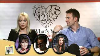 Chris Evans, Anna Faris and the cast of 'What's Your Number' play MASH with Andrew Freund