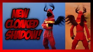 FIRST LOOK AT THE *NEW* CLOAKED SHADOW SKIN IN FORTNITE! (Krampus?!)