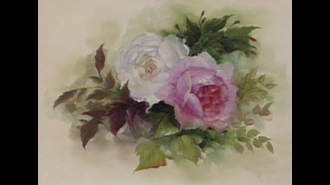 The Beauty Of Oil Painting Series 1 Episode 5 English Roses Youtube