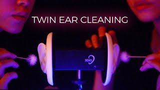 Download ASMR Twin Ear Cleaning to Put You in a Coma (No Talking)