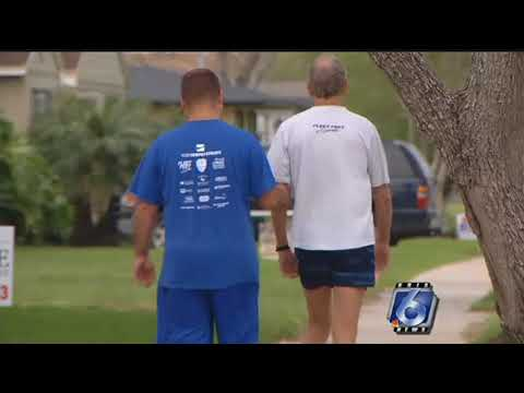 Good Sports: Visually impaired runner trains for Beach to Bay Relay Marathon