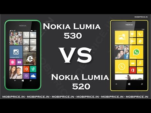 nokia lumia 520 price. compare online nokia lumia 530 vs 520 price specification review