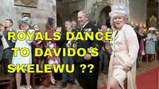 THE ROYALS DANCING TO DAVIDO'S SKELEWU ?? 'Royal wedding' dance video goes viral