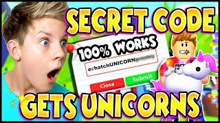 This SECRET CODE Gets You A UNICORN every time in ADOPT ME!! 100% WORKS!! PREZLEY