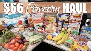 $66 Walmart Grocery Haul | It's Vacation Time, Baby!