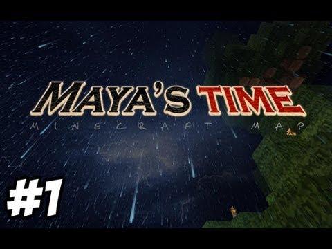 Map Aventure Minecraft | Maya's Time | Part 1