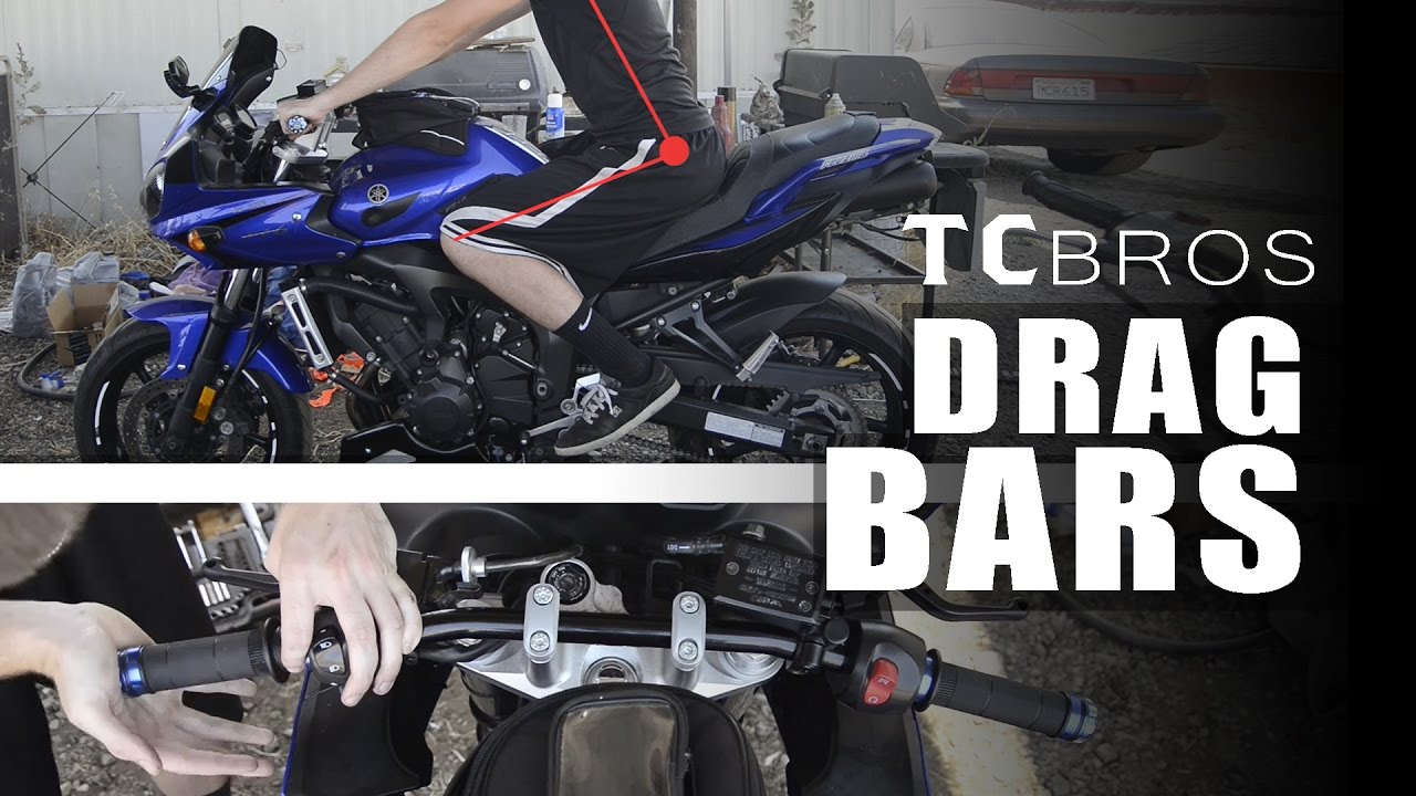 How to: TC Bros Drag Handlebars Install - Yamaha FZ6 Fazer | Inja's Garage