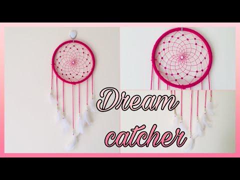 Diy Dream Catcher   Easy Dream Catcher webbing tutorial   diy Dream Catcher step by step tutorial