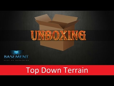 TBMC - Gaming Review - Top Down Terrain Unboxing