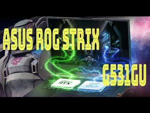 Обзор ноутбука ASUS ROG Strix G531