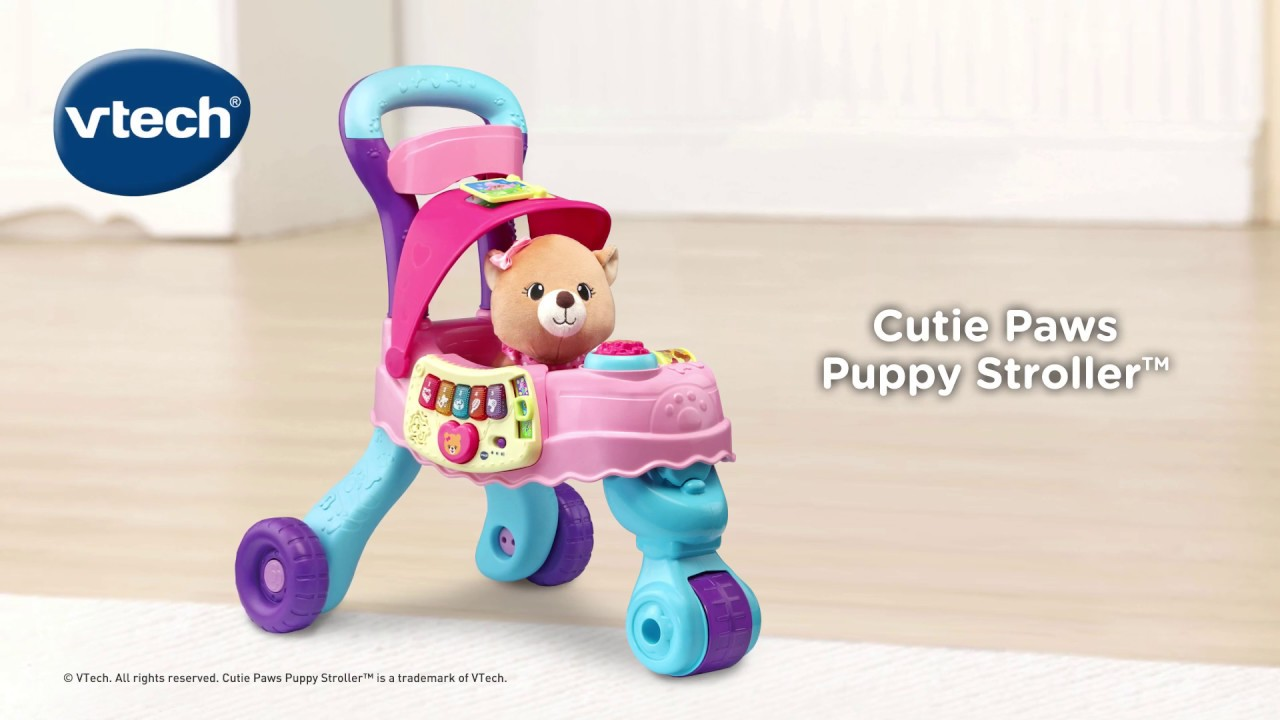 Cutie Paws Puppy Stroller™ | Demo Video | VTech® - YouTube