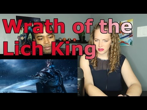 World of Warcraft  Wrath of the Lich King Cinematic Trailer (Reaction 🔥)