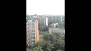 Вертолет МЧС приземляется в СВАО Южное медведкого(, 2014-08-12T12:18:41.000Z)