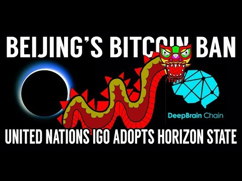 CRYPTO NEWS! Beijing's Bitcoin Ban, Horizon State, Crypto Kitties!