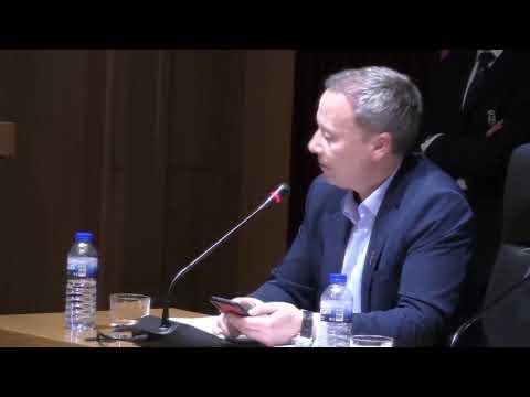 Pleno Extraordinario del Concello de Ourense 4-11-2019