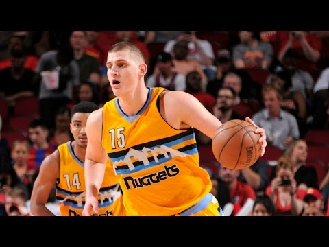 Nikola Jokic Stuffs Stat Sheet in Season Finale | April 12, 2017
