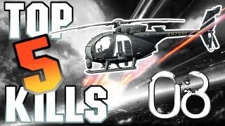 BF3 TOP 5 KILLS #08 PRO Helicopter Pilot | HD Comentado PT-BR