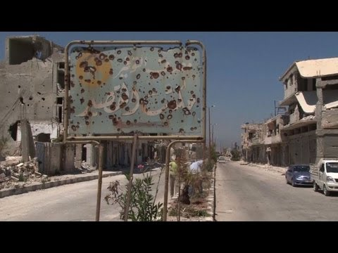 Return to Qusayr, shattered symbol of Syria at war