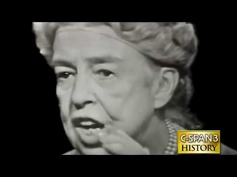 Eleanor Roosevelt interview (1957)