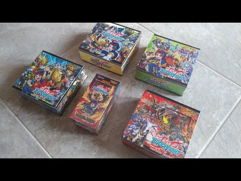 Lets Open Buddyfight Booster Boxes by Bushiroad ...what on earth are these!?