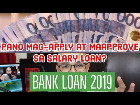 Bank Loan - How To Apply For A Salary Loan In 2019 - Philippines