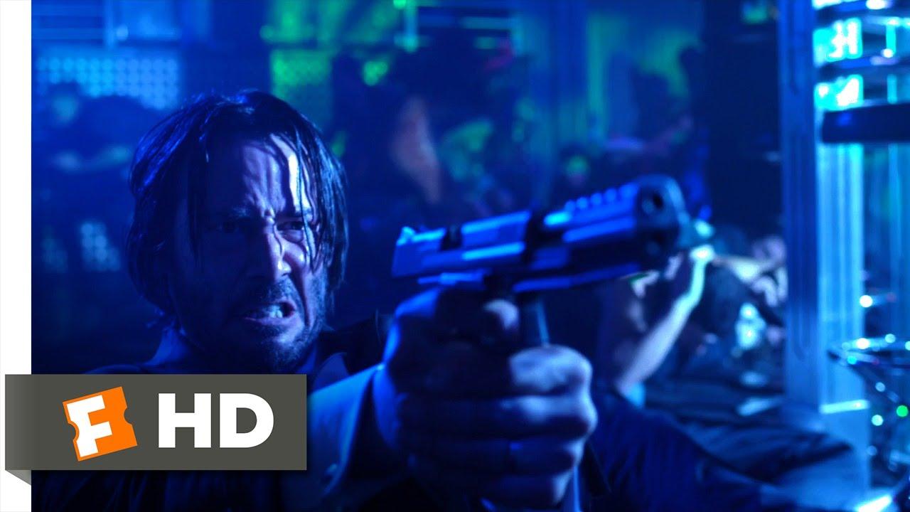 John Wick (4/10) Movie CLIP - Club Rampage (2014) HD