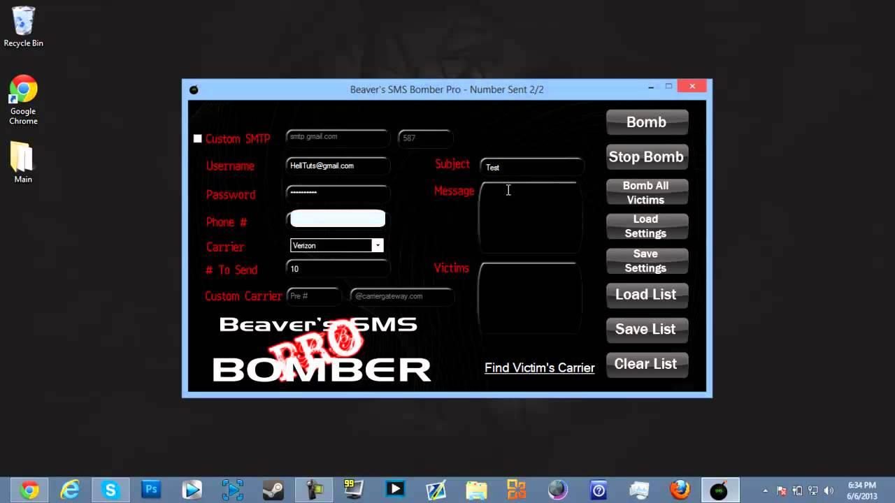 beavers sms bomber pro download