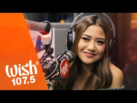"Morissette Amon sings ""Mahal Naman Kita"" (Jamie Rivera) LIVE on Wish 107.5 Bus"