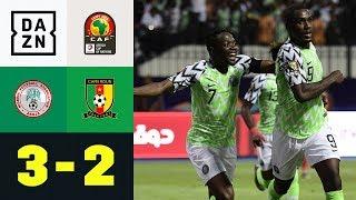 Doppelpack plus Assist! Super Eagles feiern Odion Ighalo: Nigeria - Kamerun 3:2 | Afrika Cup | DAZN