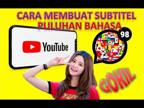 Download Cara Membuat Subtitel di Youtube ke Berbagai Bahasa
