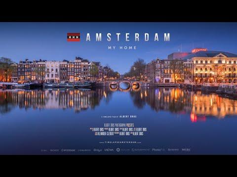 Amsterdam: My Home 4K, Timelapse Film