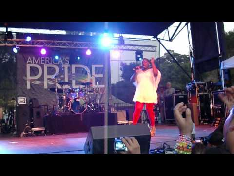 Alex Newell - Boogie Shoes - San Diego Pride - 7/21/12